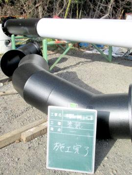 排水管塗装工事の画像